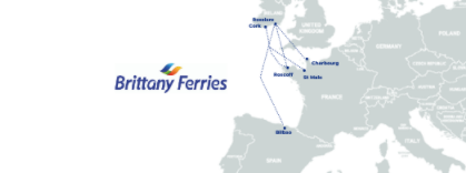 Brittany ferries : New ferry line to Ireland